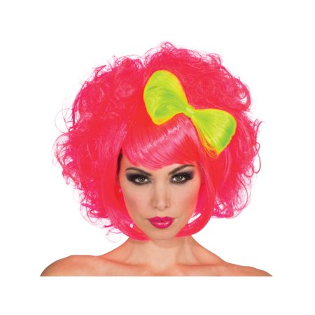 Anime Wigs For Sale (Womens 80s Pink Harajuku Anime Costume Cutie Doll Wig With Yellow)