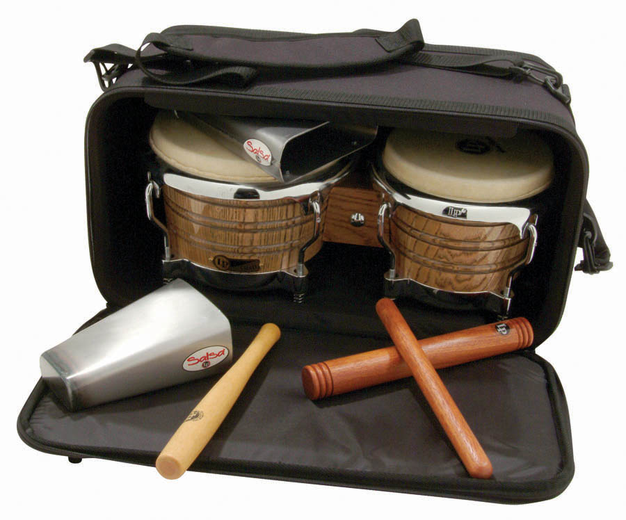 Latin Percussion LP533-BK Pro Bongo Bag, Black by LP