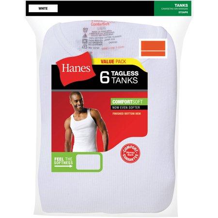 de8f4905b2baff Hanes - Hanes Men s FreshIQ ComfortSoft Tank Top Shirt Moisture-Wicking (M)  - Walmart.com