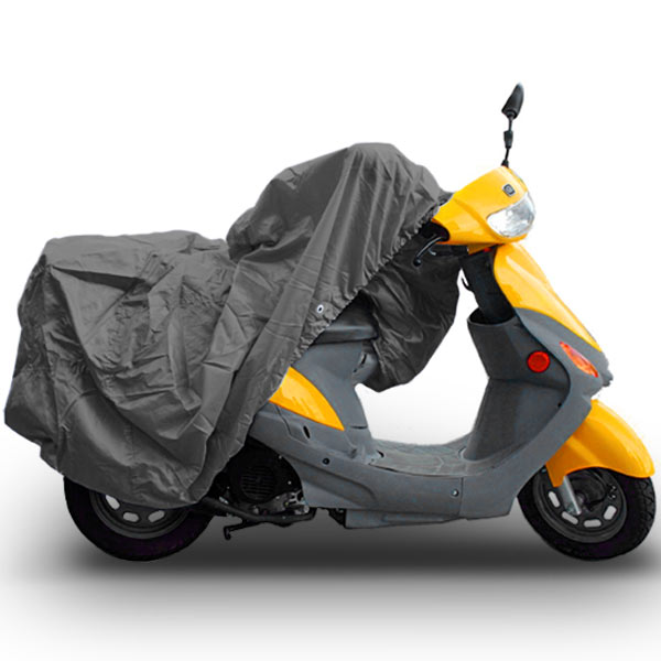 "Superior Travel Dust Motorcycle Scooter Moped Cover Fits Up To Length 80"" - Most Scooter, Mopeds, and Small Motorcycles"
