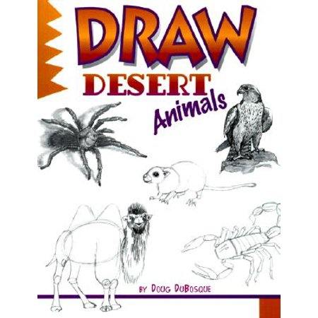 Draw Desert Animals - Desert Animals Adaptations