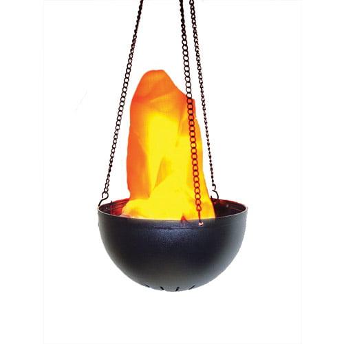 Hanging Flame Light Halloween Prop