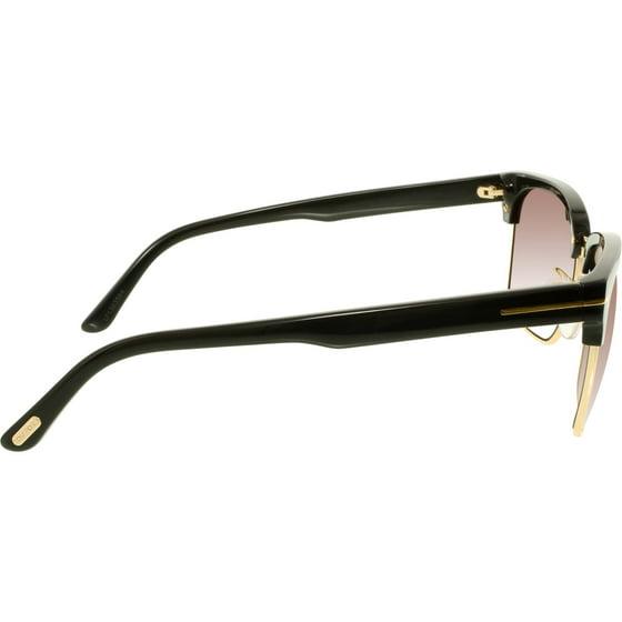 89696403053 Tom Ford - Men s Polarized FT0367-01D-57 Black Square Sunglasses ...