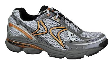 (Size 7.5) Aetrex RX Running Shoes for Men Grey Copper by