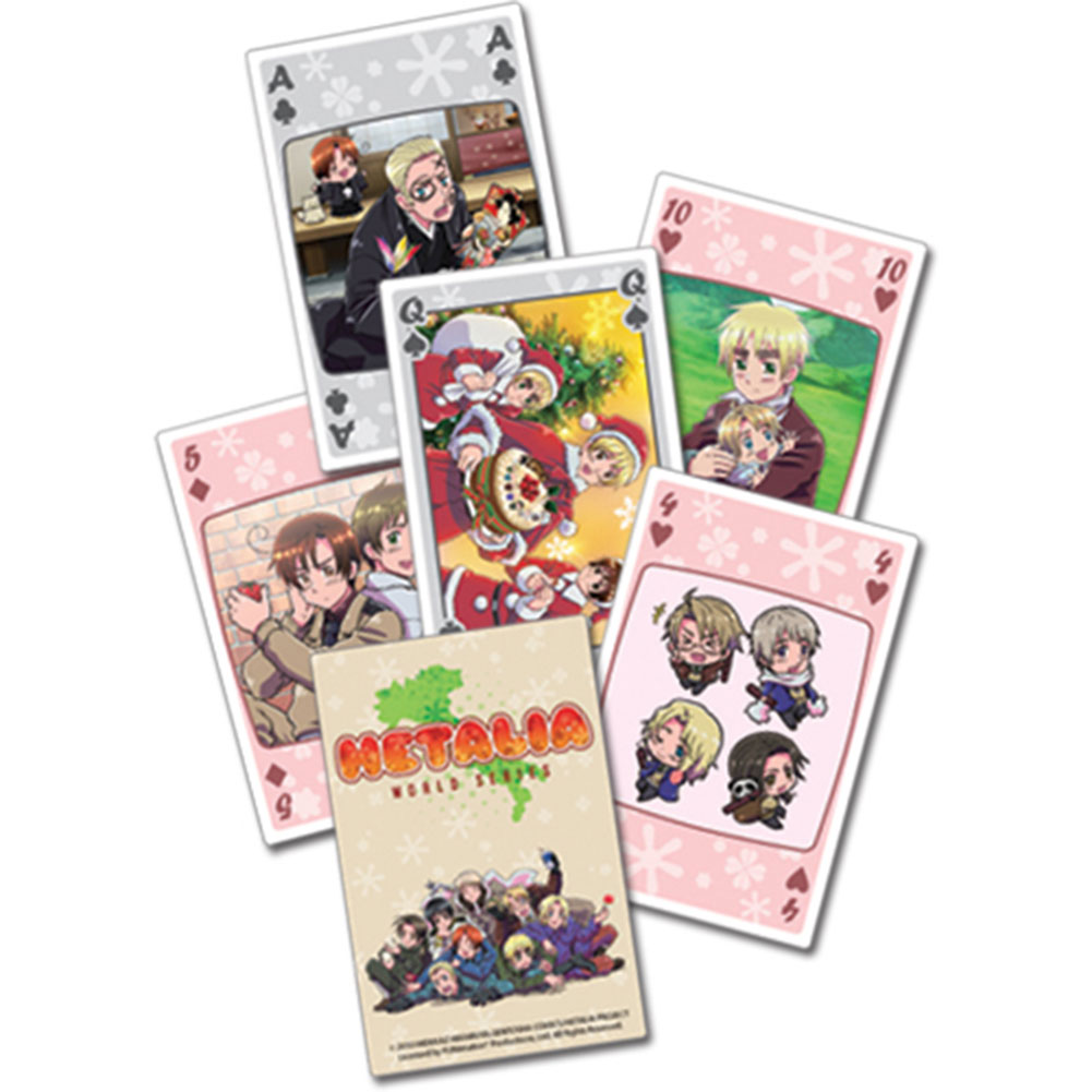 Hetalia - Playing Cards