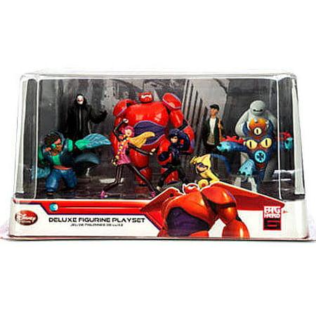 Disney Big Hero 6 Deluxe Figurine Playset 9-Piece PVC Playset