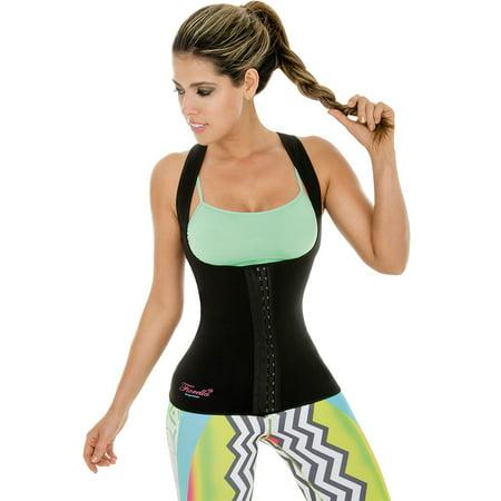 Neo Sweat Slimming Vest Sports Sauna Neoprene 3 Hooks Shaper Body Shapers for Gym Yoga Aerobics Run Workout 302 Small (Sauna Smell)