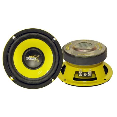 PYLE PLG54 - PLG54 5-Inch 200 Watt Mid Bass Woofer