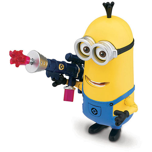Despicable Me Minion Kevin with Jelly Blaster Deluxe Action Figure