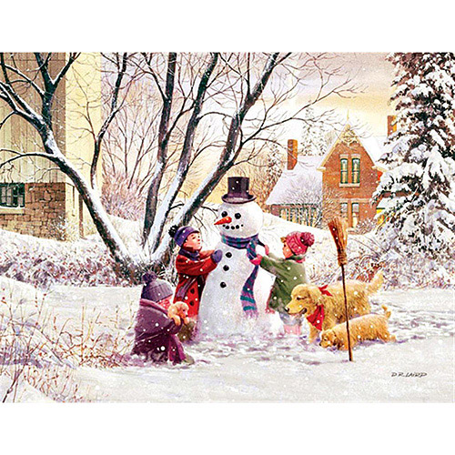 """Lang """"Frosty"""" Boxed Christmas Cards"""