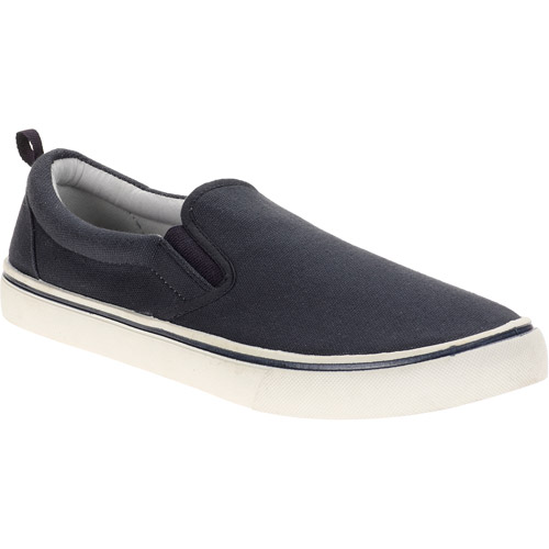 Faded Glory - Men's Canvas Twin Gore Sneakers