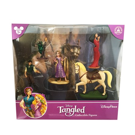 Disney Park Tangled Rapunzel Figurine Playset Play Set Cake Topper - Disney Halloween Figurines Walmart