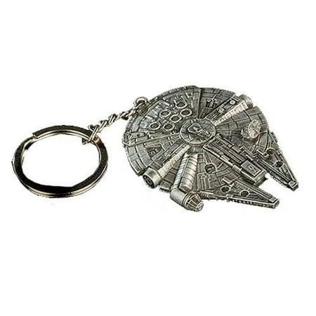 Quantum Mechanix Star Wars Millennium Falcon Replica Key Chain