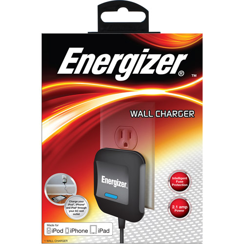 Energizer Apple iPad Travel Charger, Black