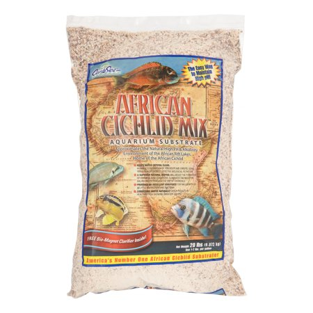 Carib Sea African Cichlid Mix Aquarium Substrate, 20-Pound Bag
