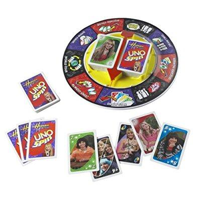 Mattel disney hannah montana uno spin card game by Mattel