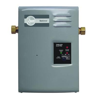 rheem ecosense on demand 13kw 240 volt tankless electric water heater. Black Bedroom Furniture Sets. Home Design Ideas