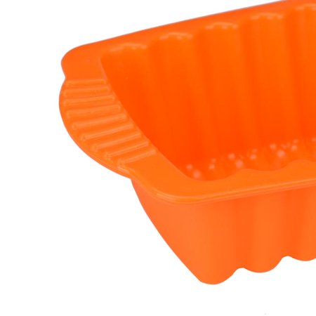 Silicone Rectangle Non Stick Bread Loaf Cake Mold Bakeware Baking Pan Oven