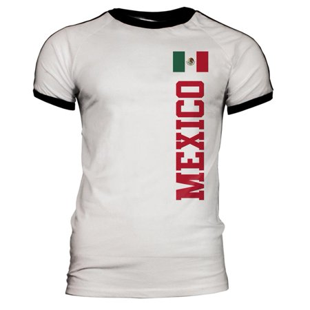 World Cup Mexico Mens Soccer Jersey T-Shirt (Mexico World Cup)
