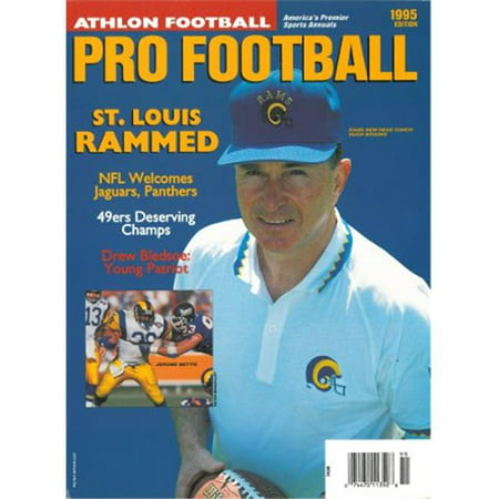 Athlon Ctbl 012480 Jerome Bettis Unsigned St  Louis Rams Sports 1995 Nfl Pro Football Preview Magazine