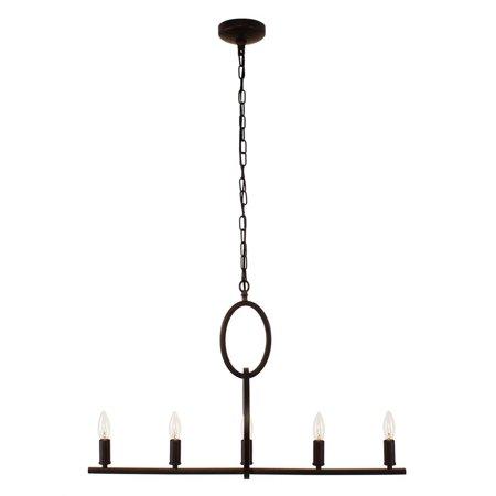 - CHLOE Lighting IRONCLAD Farmhouse 5 Light Oil Rubbed Bronze Ceiling Pendant 22