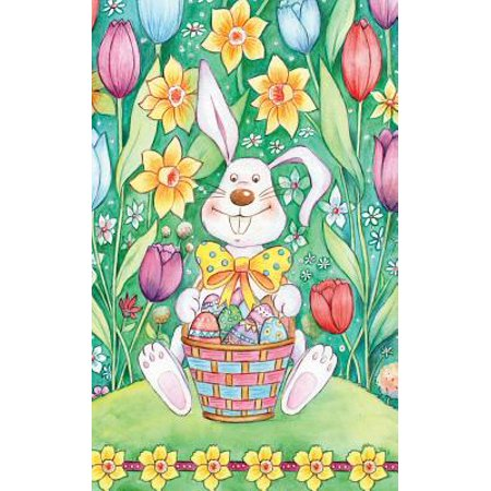 Easter Notebook : Blank, Lined Notebook for Taking Notes on the Go! 5x8 Handy Purse Size! Journal-Diary-Notebook