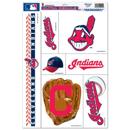 "Cleveland Indians 11"" x 17"" Ultra Decal Sheet - No Size"