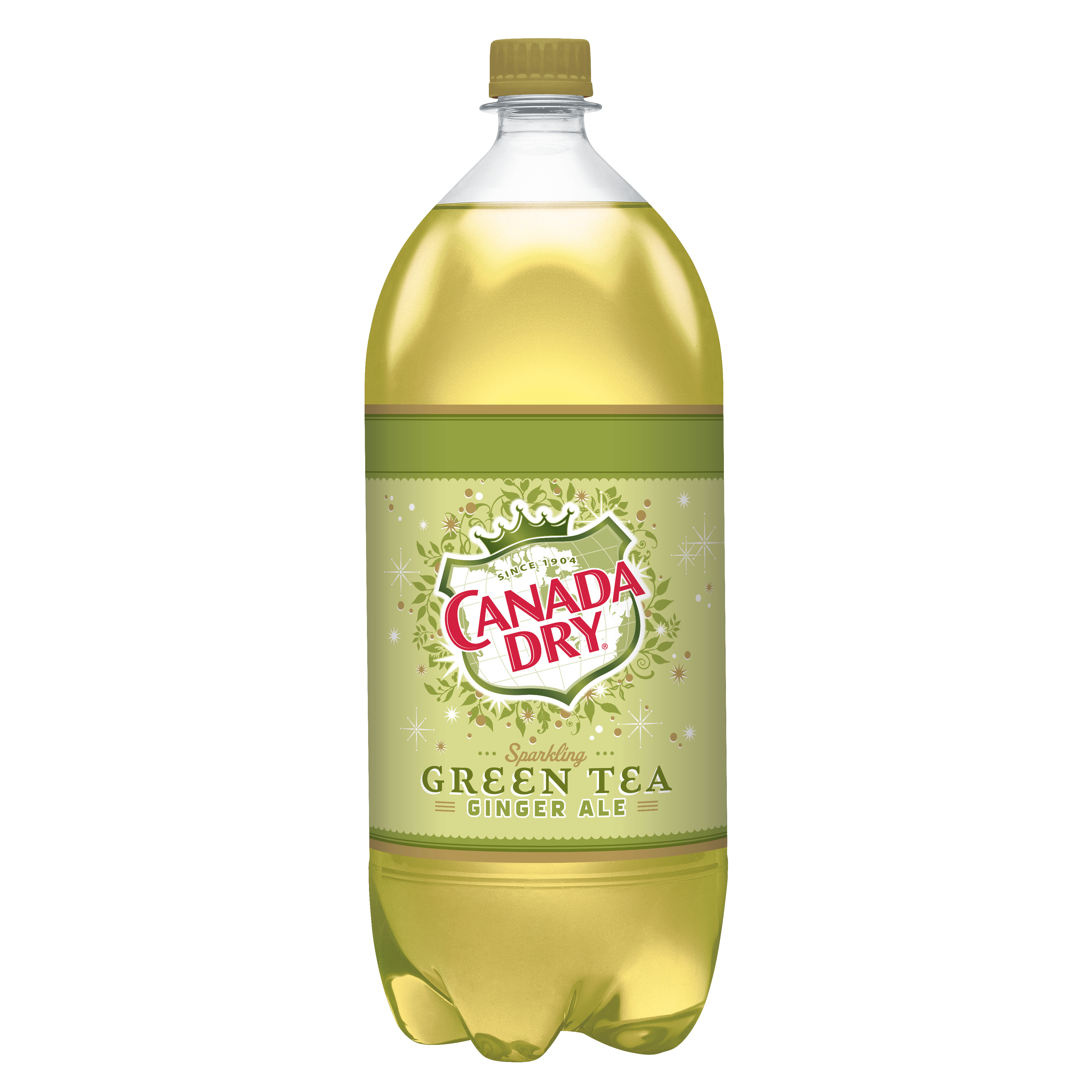 Canada Dry Green Tea Ginger Ale, 2 L