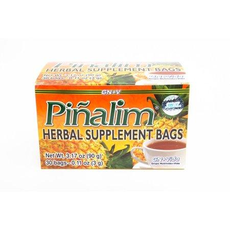 Te Pinalim Tea de Pina Extra Strength Pineapple Detox Tea by GN+Vida Herbal Supplement - 30 (Te De Pina Dr Ming Efectos Secundarios)