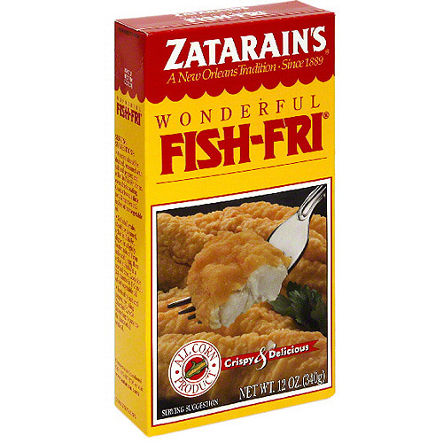 Zatarain's Crispy & Delicious Fish Fri, 12 oz (Pack of 12)