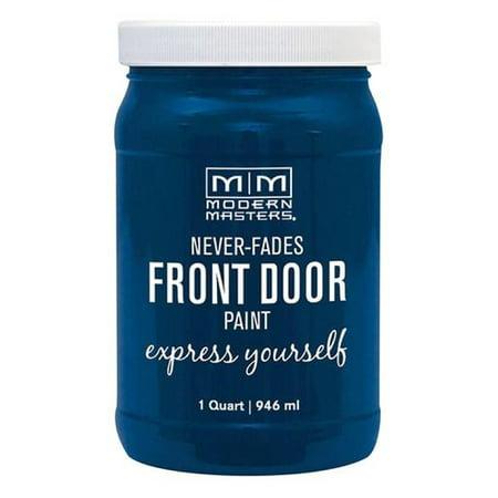 Modern Masters 275274 Front Door Paint SERENE qt