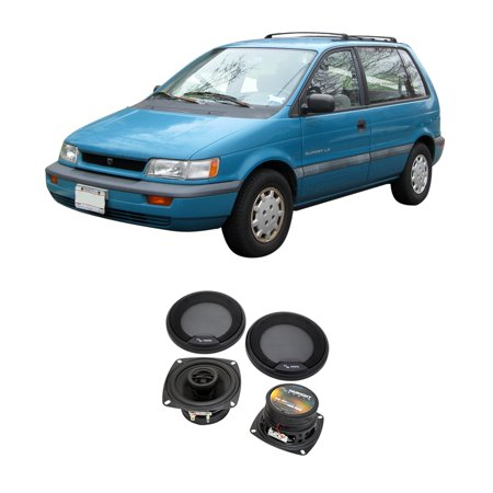 Fits Eagle Summit Wagon 1993-1994 Front Dash Replacement Harmony HA-R4 Speakers 95 96 Eagle Summit Wagon