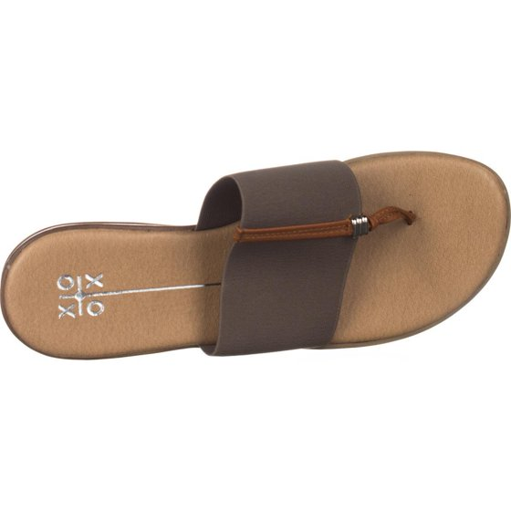 415abda4053fb Womens XOXO Bennett Flat Thong Sandals, Taupe