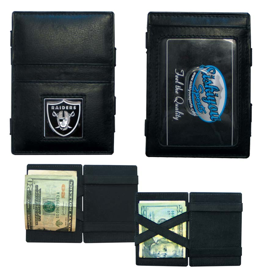 NFL - Jacob's Ladder Wallet - Oakland Raiders