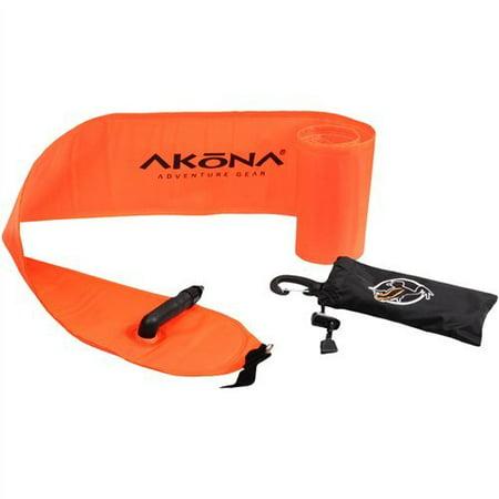 Safety Signal Tube (Hi-viz Safety Tube, Orange, 40-Inch, Surface signal device By AKONA)