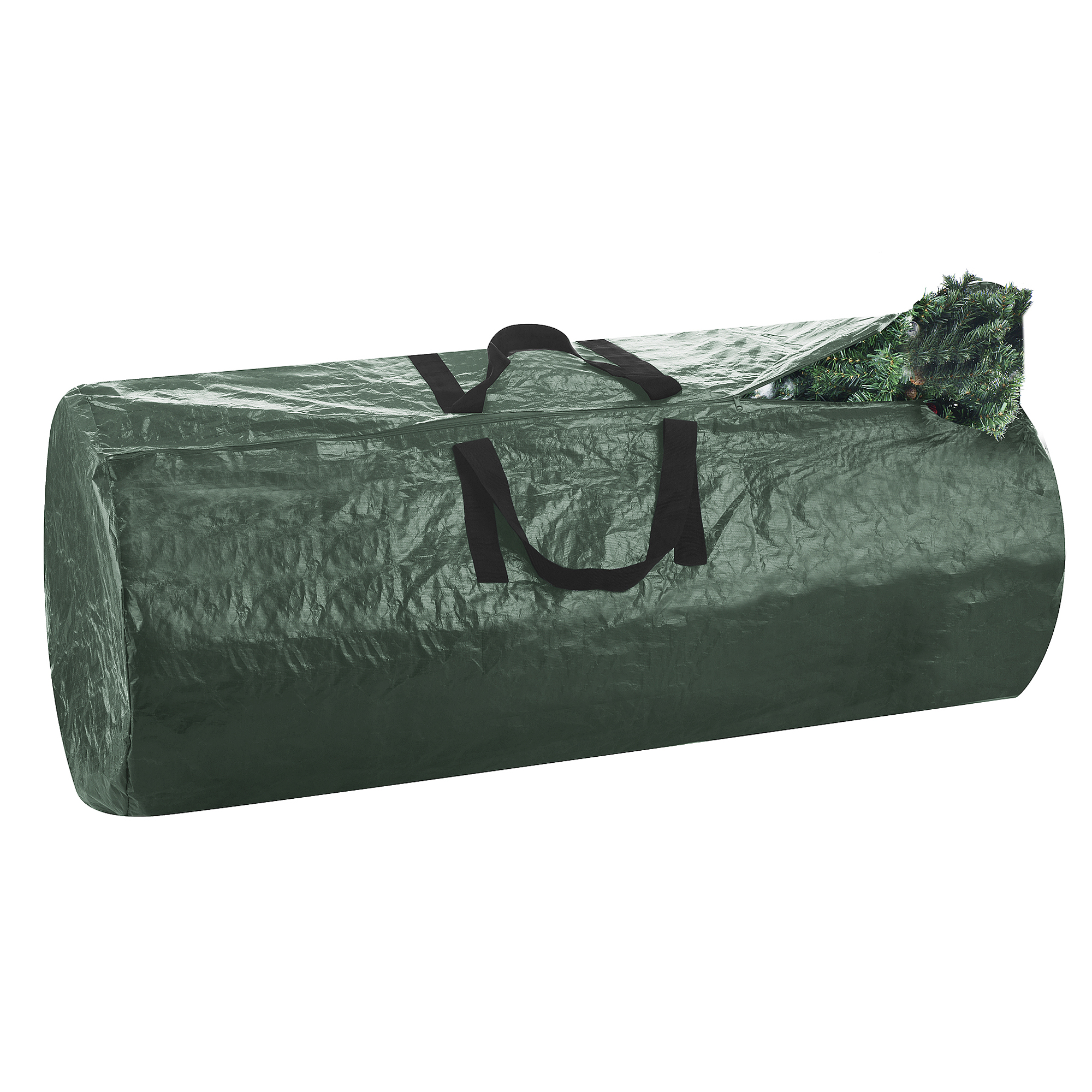 Elf Stor Premium Christmas Tree Bag Holiday Dark Green Extra Large For 9 Ft Tree