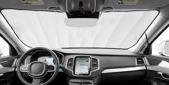 For Chrysler Pacifica 17-19 Custom Heat Shield Windshield Sun Visor SunShade