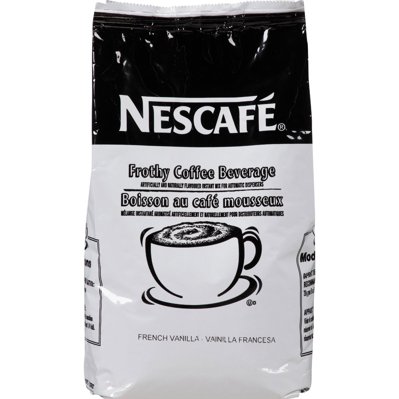 Nescafe Coffee, French Vanilla Cappuccino Mix, 6 Count