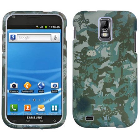 Samsung T989 Galaxy S II MyBat Protector Case, Lizzo Digital Camo/Green