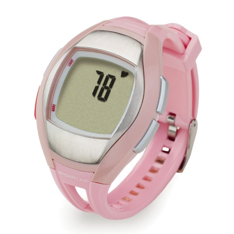 Sportline Solo 925 Heart Rate Monitor Watch with Calorie Monitor - Pink