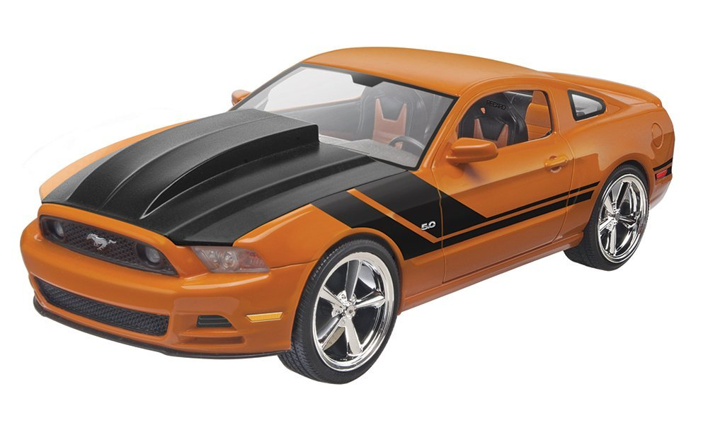 2014 Ford Mustang GT Model Kit, Assemble your own performance car with this 60-piece model... by
