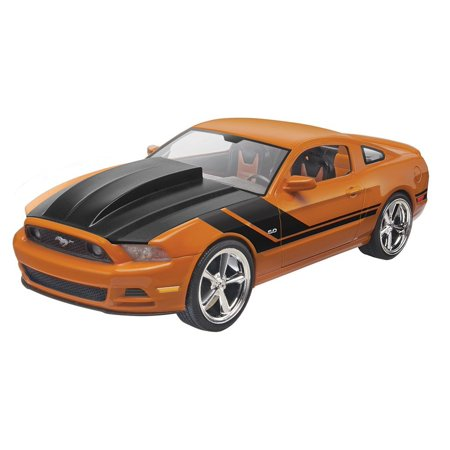 2014 ford mustang gt model kit assemble your own performance car with this 60 piece model kit. Black Bedroom Furniture Sets. Home Design Ideas