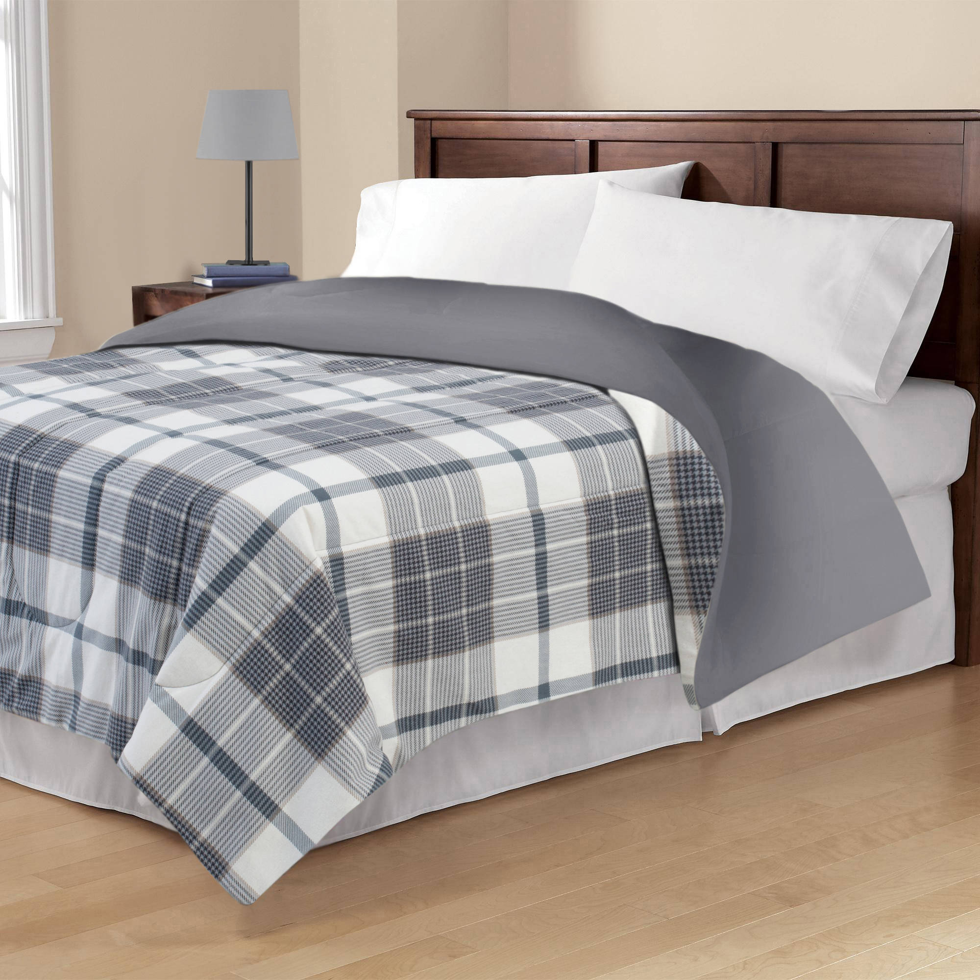 sewn green set comforter plaid bedding project handsome sets