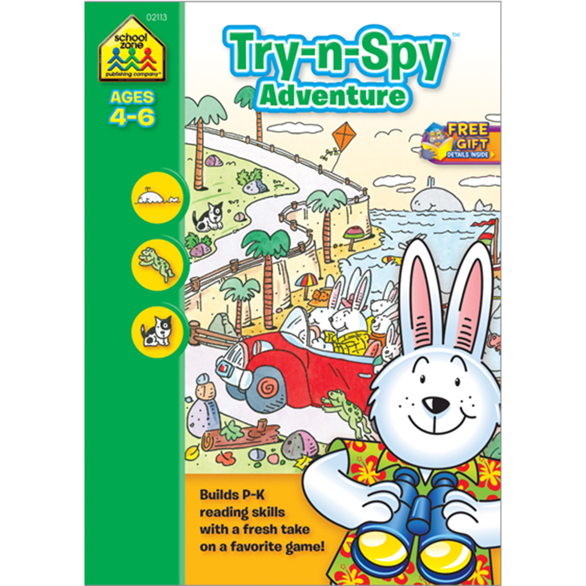 Preschool Workbooks, 32 Pages, Try 'n Spy Adventure