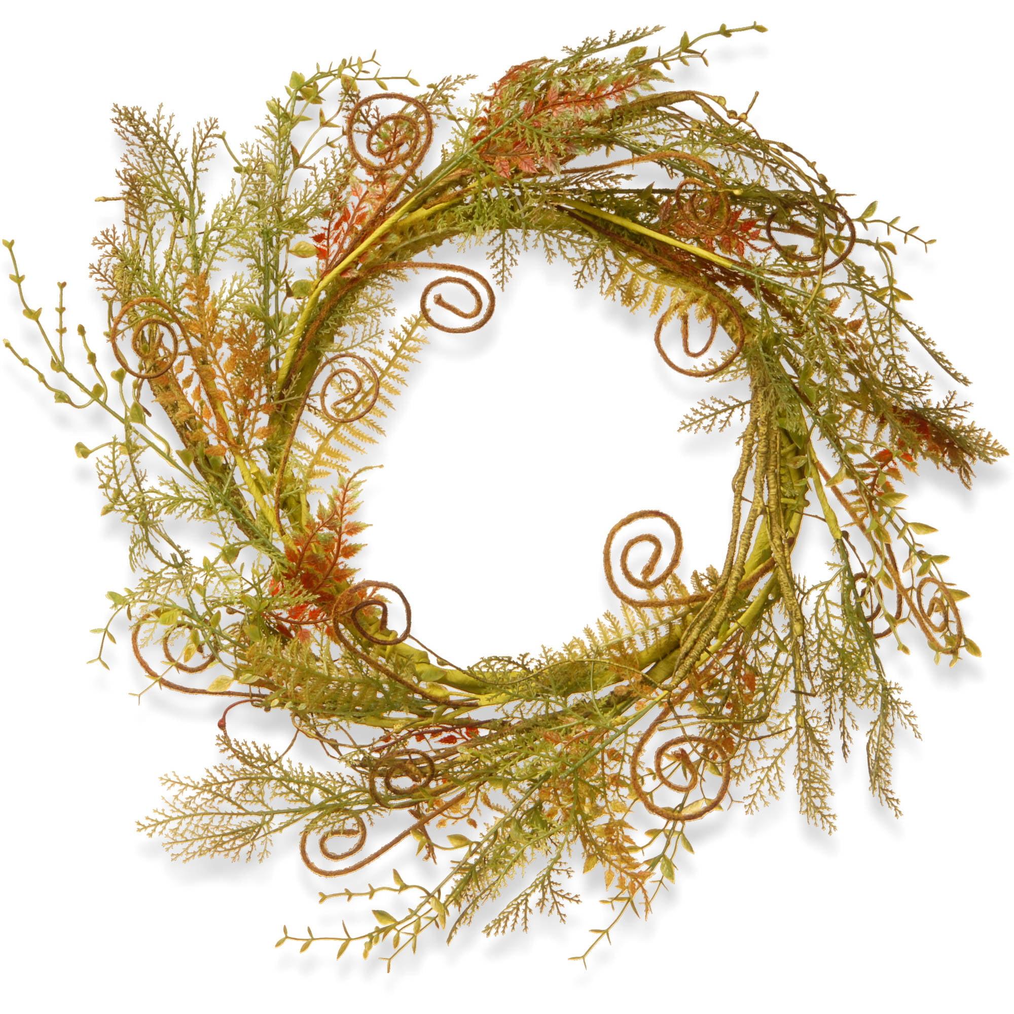 """22"""" Fern Wreath"""
