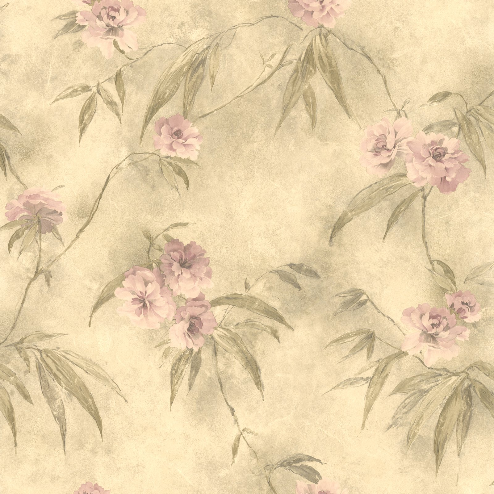 Mirage Liang Chinese Floral Wallpaper Walmart Com Walmart Com