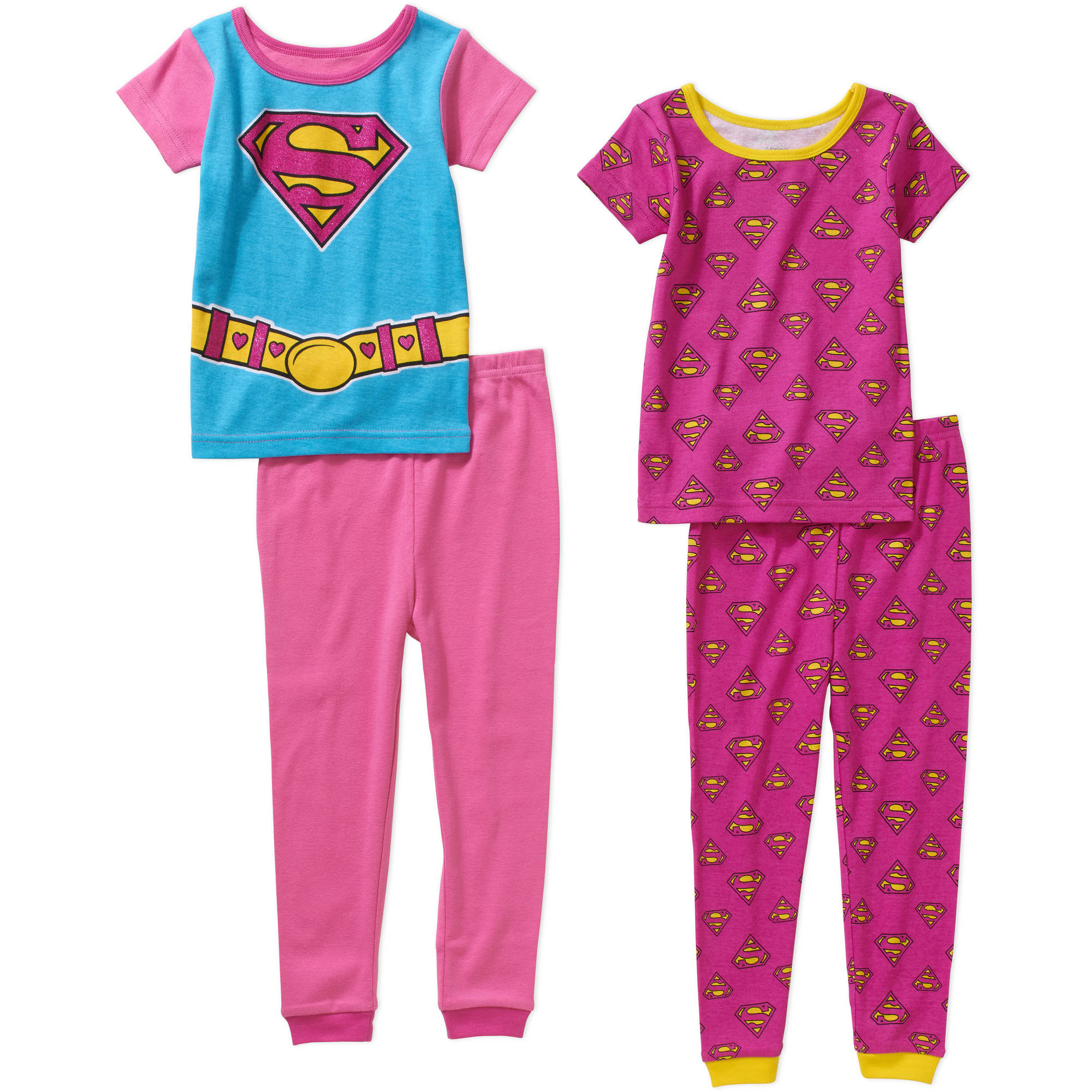 Generic Supergirl Toddler Girl Cotton Tight Fit