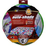 Auto Expressions Magic Shade Butterfly Super-Jumbo Windshield Shade