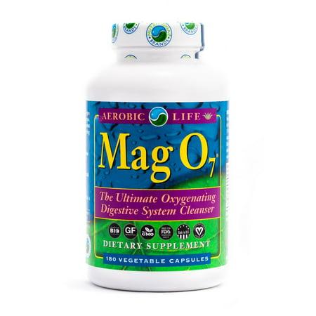 Aerobic Life Mag O7 Oxygen Detox Colon Cleanse 180 Veg Caps