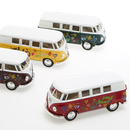 Pullback Retro Volkswagen Bus